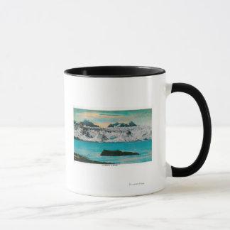 Mug Vue de glacier de Colombie, Alaska