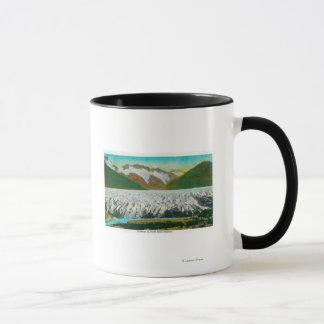 Mug Vue de glacier de Spencer, près de Seward,