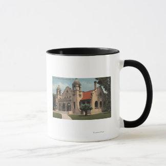Mug Vue de la bibliothèque publique de Carnegie
