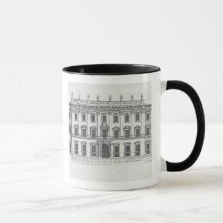 Mug Vue de la façade de Palazzo Chigi, Rome, designe