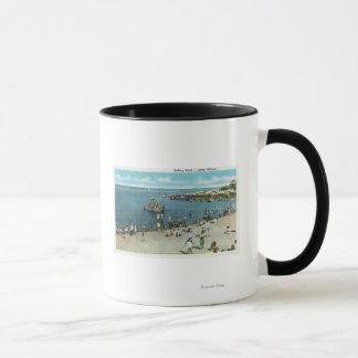 Mug Vue de la plage de saules de Salem