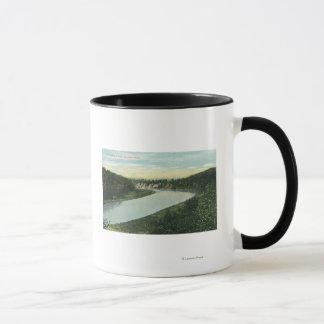 Mug Vue de la rivière de Genesee