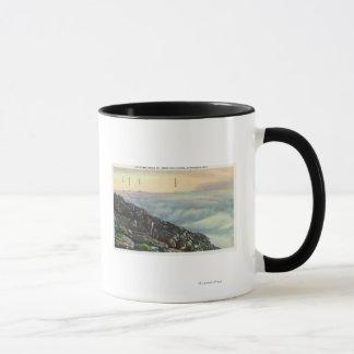 Mug Vue de l'autre Adirondack Mts au-dessus des nuages