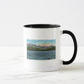 Mug Vue de Milou Mts de la route de lac Tupper