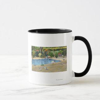 Mug Vue de parc de Beardsley de Waterbirds