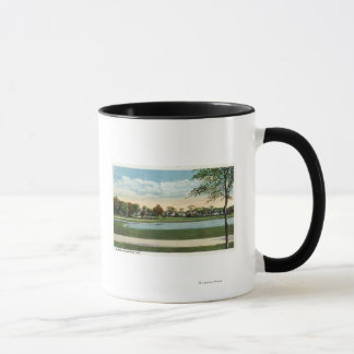 Mug Vue de parc de bord de la mer de lac mirror
