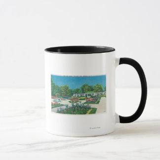 Mug Vue de roseraie de parc du Delaware