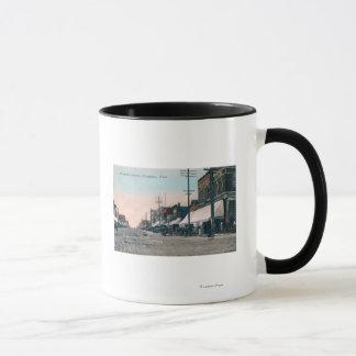 Mug Vue de rue d'avenue de Wenatchee