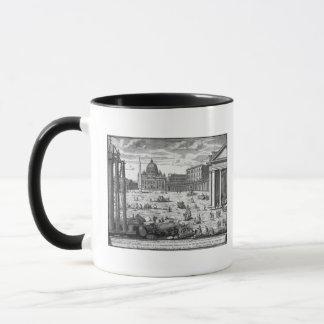 Mug Vue de St Peter, Rome