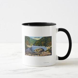 Mug Vue de traînée de Mohawk de pont froid de rivière