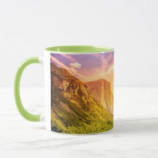 Mug Vue de tunnel de parc national de Yosemite