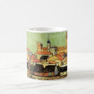 Mug Vue de Van Gogh de Saintes Maries, beaux-arts