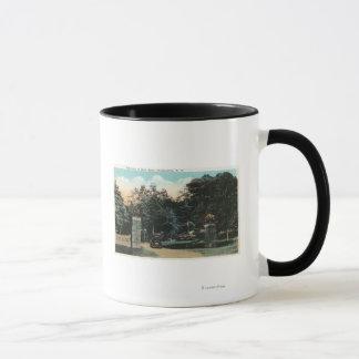 Mug Vue d'entrée de parc de Ross