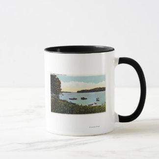 Mug Vue des bateaux aux étroits