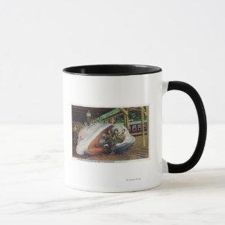 Mug Vue des chasseurs de baleine reposant sur la