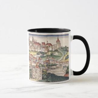 Mug Vue d'oeil d'oiseau de Prague de Nuremberg Chron