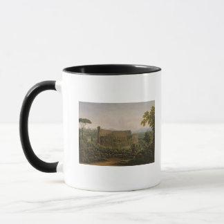 Mug Vue du Colosseum de la colline de Palatine