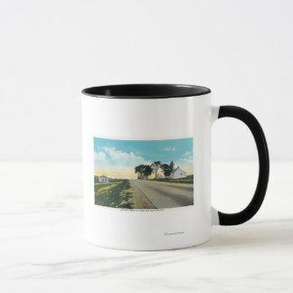 Mug Vue du nord de champ de bataille de Saratoga
