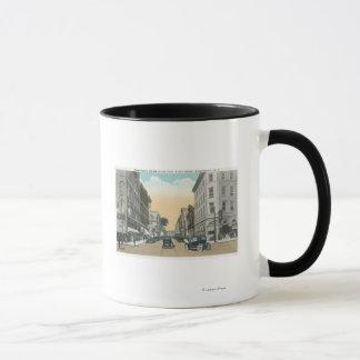 Mug Vue du nord de rue de Washington de cour