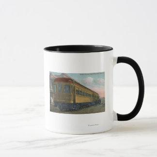 Mug Vue du nord de train électrique