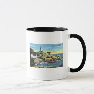 Mug Vue du phare 2 d'Atkinson de point