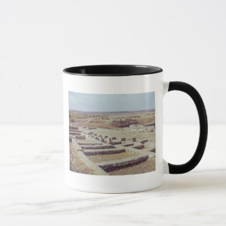 Mug Vue du site archéologique, 1450-1200 AVANT JÉSUS