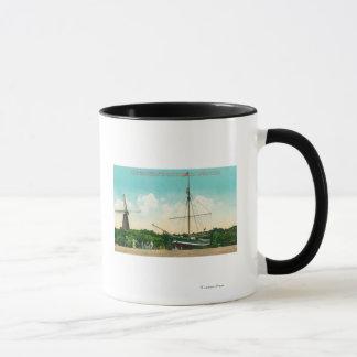 Mug Vue du sloop arctique d'Amundsen