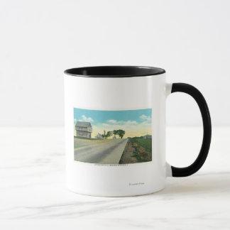 Mug Vue du sud de champ de bataille de Saratoga