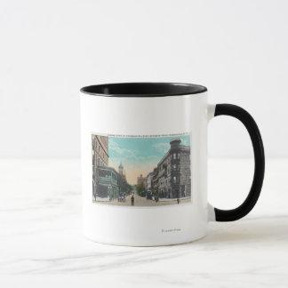 Mug Vue du sud de St de Chenango d'Arlington