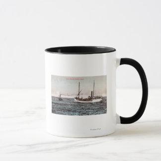 Mug Vue du vapeur ElizabethBandon, OU