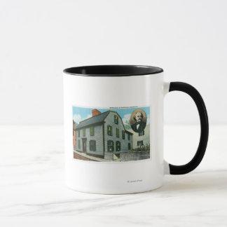 Mug Vue extérieure de Nathaniel Hawthorne