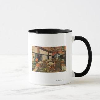 Mug Vue intérieure de la salle de pavot chez le