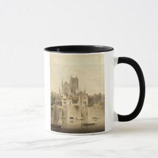 Mug Vue occidentale de la cathédrale de Worcester,