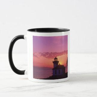 Mug WA, île de San Juan, four à chaux Lighthouse,