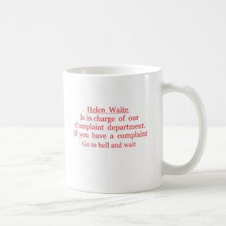 Mug waite de Hélène