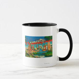 Mug Walla Walla, Washington - grandes scènes de lettre