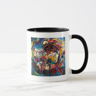 Mug Wassily Kandinsky - art abstrait de paysage urbain