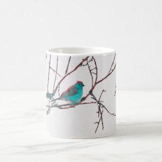 Mug Waxbill bleu
