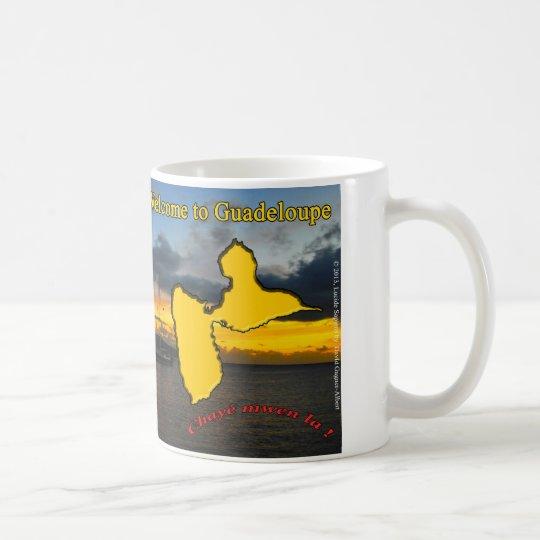 Mug : Welcome to Guadeloupe.