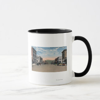 Mug Wenatchee, scène d'avenue de WashingtonWenatchee #