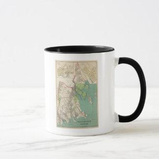 Mug Westchester, villes de Pelham