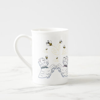 Mug Westies et abeilles