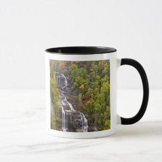 Mug Whitewater dramatique tombe en automne dans
