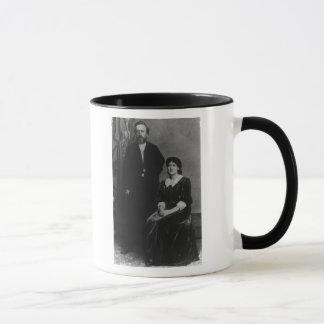 Mug Wilhelm Liebknecht et Eleanor Aveling