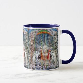 Mug William Blake : Avant le trône divin