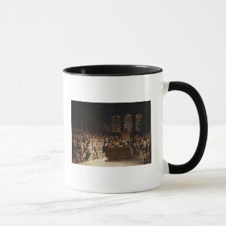 Mug William Pitt adressant la Chambre