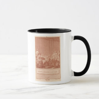 Mug William Pitt l'aîné s'opposant à la paix