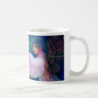 Mug Wings de paon de Madame de la dualité