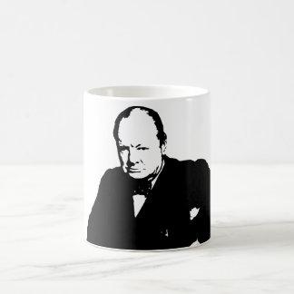 Mug Winston Churchill -- Noir et blanc