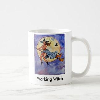 Mug WitchRavenCatfly1, sorcière travaillante